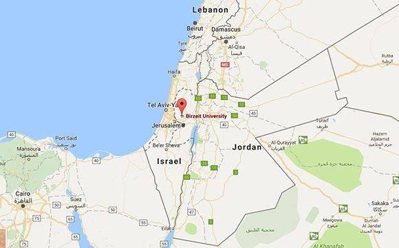 Desaparecen también Gaza y Cisjordania de los mapas de