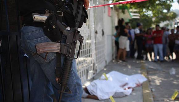 Homicidios Mexico