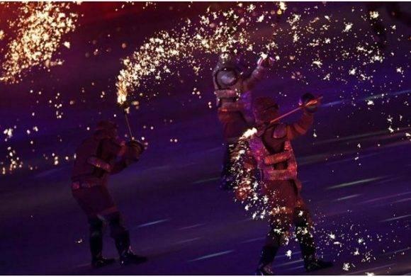 Ceremonia inaugural de Rio 2016. Foto: Ricardo López Hevia / Granma