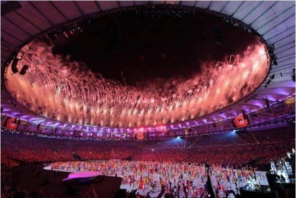 Inauguración de Rio 2016. Foto: Ricardo López Hevia / Granma