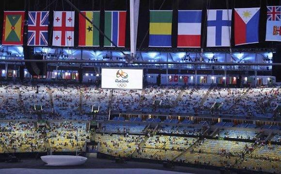 Inauguracion Juegos Olimpicos Rio de Janeriro