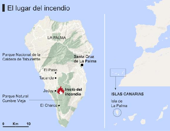 Infografia incendio. Fuente El Mundo