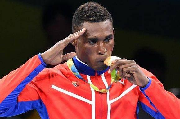 Julio César la Cruz tras ganar en Rio-2016. Foto: Marcelino Vázquez/ ACN.