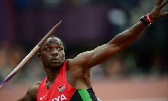Julius Yego. Foto tomada de r24n.com.ar