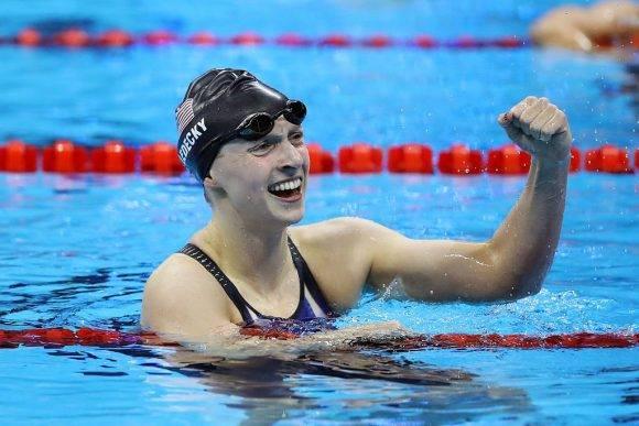 Katie Ledecky oro en 200 metros libres