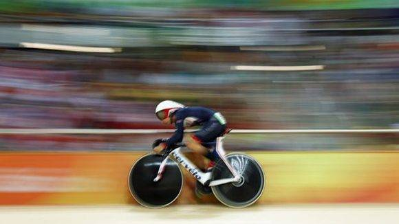 Laura Trott suma cuatro medallas de oro, siendo a sus 24 años la mujer más exitosa de Reino Unido en las olimpiadas. Foto. Getty.
