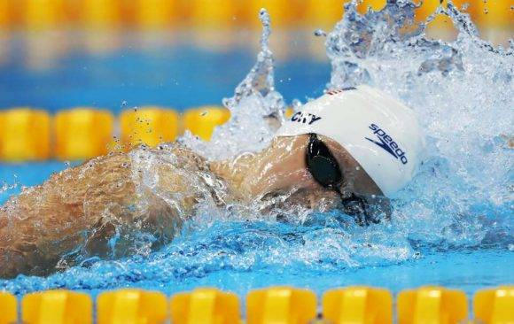 Ledecky. Foto: Getty Images