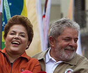 Dilma Rousseff y Luiz Inacio Lula da Silva. Foto: AP/ Andre Penner.