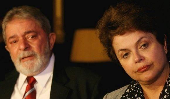 Lula da Silva y Dilma Rousseff. Foto.: Beto Barata.