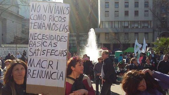 Manifestaciones Argentina