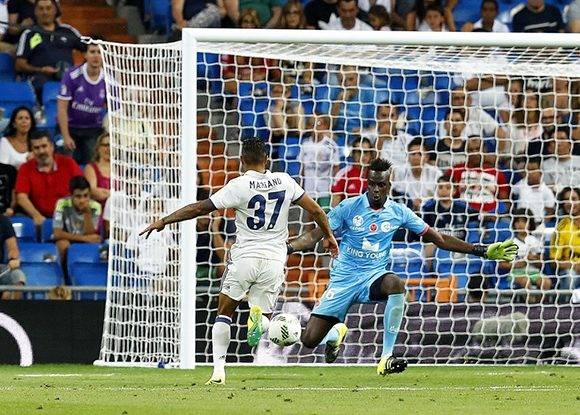 El joven dominicano, Mariano Díaz, hizo el último gol del Madrid. Foto: Jesús Álvarez/ AS.