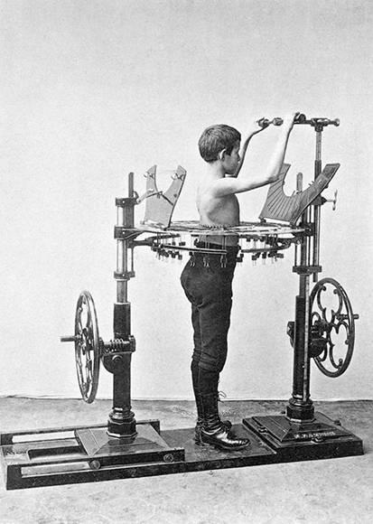 Medidor de sección transversal. Foto: Digital Museum.