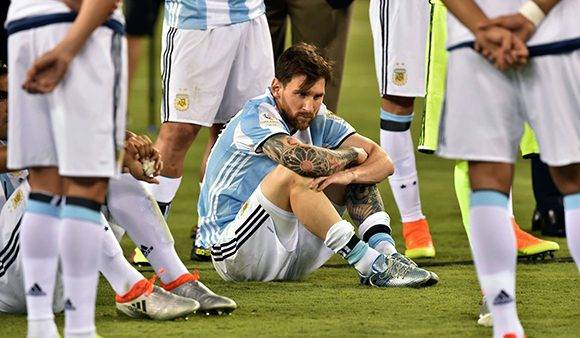 Messi regresa a la selección de Argentina, finalmente no se pierde ninguna convocatoria. Foto: Nicholas Kamm/ AFP.