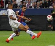 Munir fue el jugador más destacado del FC Barcelona con dos goles.
