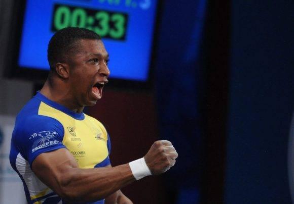 Oscar Figueroa Campeon Olimpico de Pesas