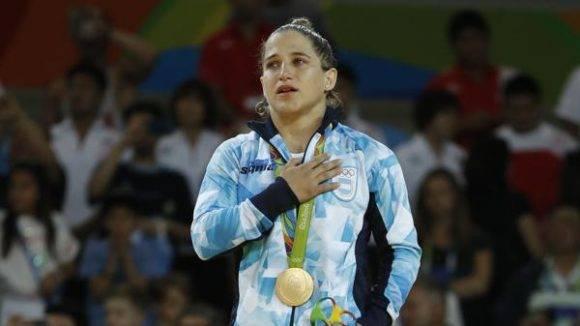Paula Pareto. Foto: AFP.