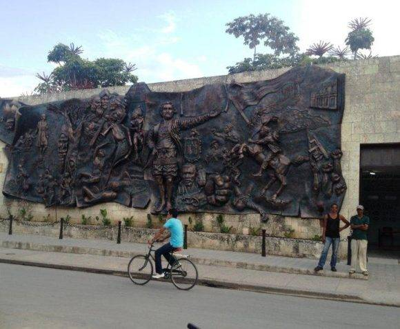 Recuerdo a la Historia, Holguín. Foto: Diana Acuña Riancho / Cubadebate