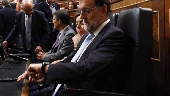 Congreso español rechaza la reelección de Rajoy como jefe de Gobierno