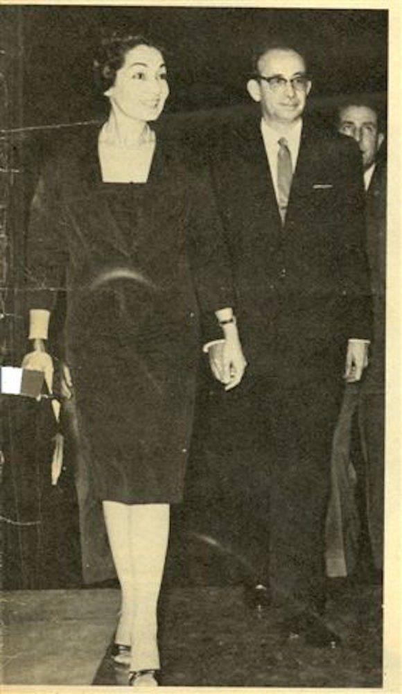 Ada Kourí y Raúl Roa.