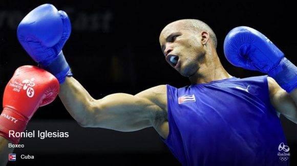 Campeón Olímpico Roniel Iglesias mantiene invicto de Cuba en Boxeo