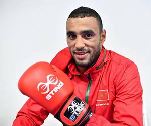 Saada Hassan, el boxeador acusado de acoso sexual en Río-2016. Foto: AFP.