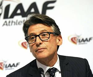 Sebastian Coe, presidente de la Federación Internacional de Atletismo, ha sido amenazado de muerte.