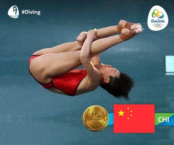 Shi Tingmao oro en trampolin 3m