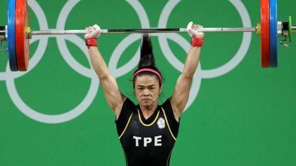 La pesista de Taipei, Shu-Ching Hsu. Foto: Google.
