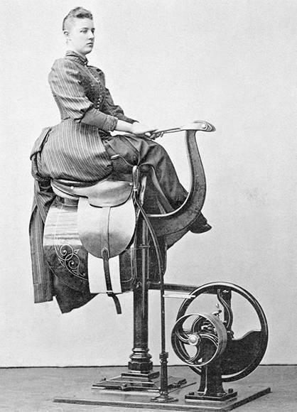 Silla mecánica. Foto: Digital Museum.