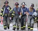 Socorristas en el atentado al WTC