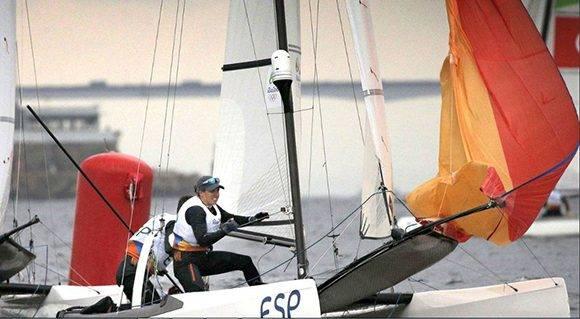 Tara Pacheco y Fernando Echavarri, del equipo español.