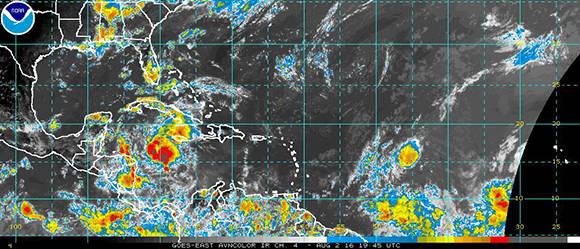 Tromenta tropical Cuba