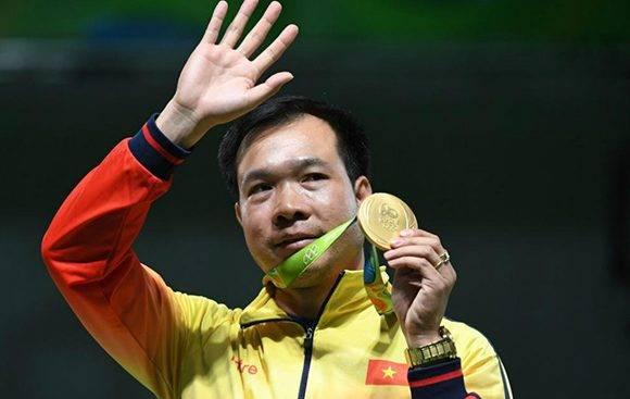 Vietnam consigue su primer oro en la historia olímpica. Foto: AFP.