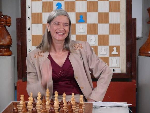 Vivian Ramón, primera Gran Maestra de Iberoamérica.