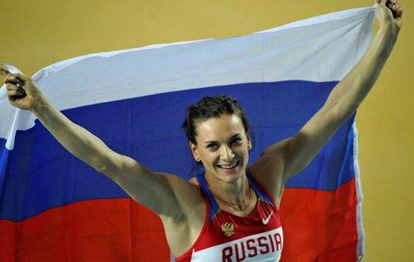 Yelena Isinbáyeva. Foto: Reuters.