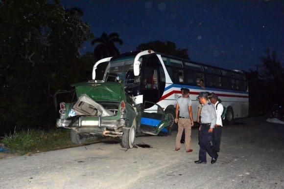 Trágico accidente en Mayarí. Foto: Luis Ernesto Ruiz Martínez