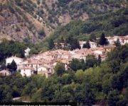 Impresionante vista aérea de Ametrice, el pueblito que desapareció tras el sismo en Italia. (AP Photo/Gregorio Borgia)