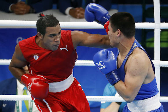 Boxer Arlen Lopez gives Cuba its fifth gold in Rio Olympics