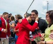 Llegan deportistas participantes en los XXXI Juegos Olímpicos de Río 2016, al Aeropuerto Internacional José Martí, en La Habana, Cuba, el 23 de agosto de 2016.     ACN  FOTO/ Calixto N. LLANES/ Juventud Rebelde