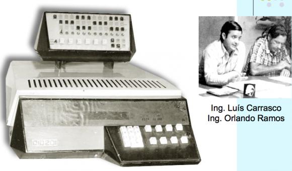 La primera computadora cubana, la CID 201, un resultado alentado supervisado por Fidel. Foto: Archivo de Cubadebate