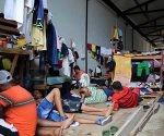 Ciudadanos cubanos en tránsito en Turbo, Colombia. Foto: EFE