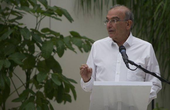 Humberto de la Calle, negociador por el gobierno de Colombia. Foto: Ladyrene Pérez/ Cubadebate