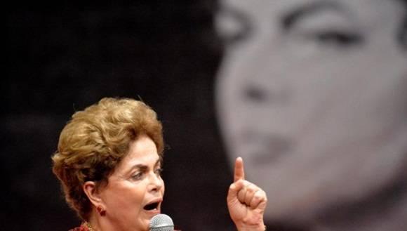 """Rousseff alerta la """"injusticia de ser condenada incluso siendo inocente"""". Foto: EFE."""
