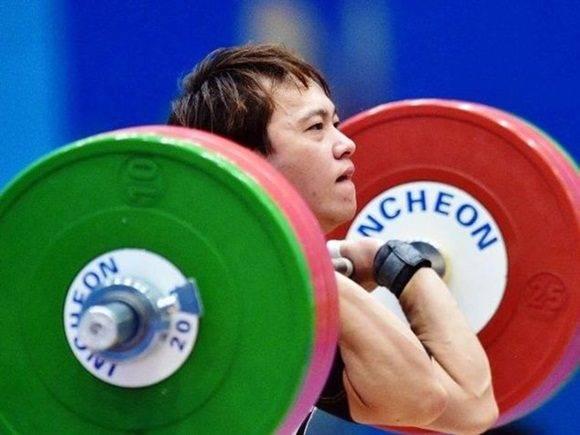 La levantadora de pesas, Lin Tzu-chi, ha sido suspendida de los Juegos tras dar positivo en un control antidopaje. Foto: AFP.