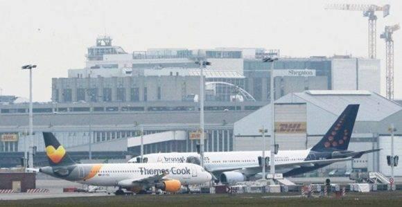 El aeropuerto Bruselas-Zaventem.- AFP