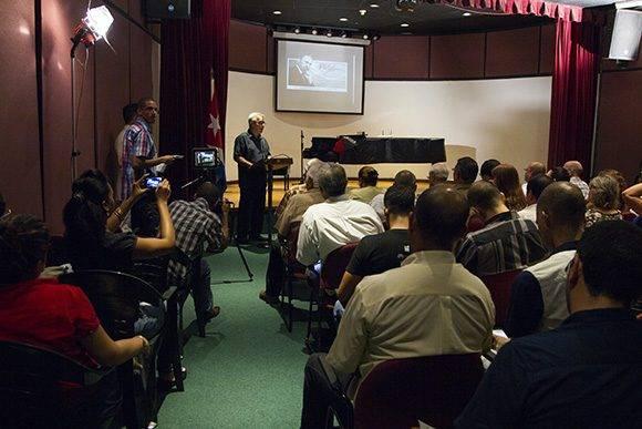 Presentación del Sitio Fidel Soldado de las Ideas en el Memorial José Martí. Foto: Ladyrene Pérez/ Cubadebate.