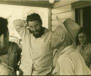 El chino Eulogio y Fidel. Foto: Korda