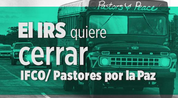 Condenan religiosos cubanos medida contra Pastores por la Paz