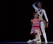 Chanel Cabrera y Françoise LLorente, del Ballet Nacional de Cuba interpretaron la coreografía Muñecos. Foto: Ladyrene Pérez/ Cubadebate.
