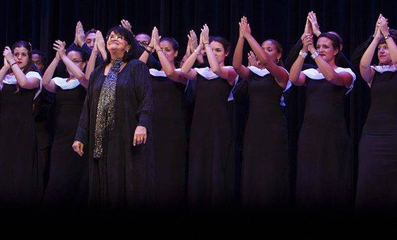 Coro Nacional de Cuba dirigido por la Maestra Digna Guerra. Foto: Ladyrene Pérez/ Cubadebate.